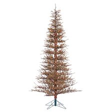 7' Brown Twig Artificial Christmas Tree with 550 Incandescent Clear Lights