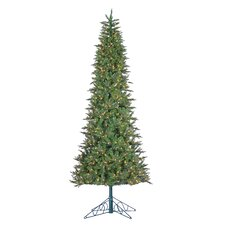 10' Green Spruce Artificial Christmas Tree with 850 Incandescent Clear Lights