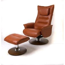 Trento Recliner and Ottoman
