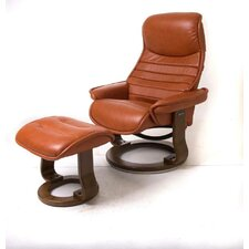 Veo Recliner and Ottoman