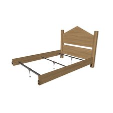 Support System for Wood Bed Rails
