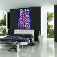 XOXO Graphic Art on Canvas