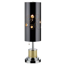 """Starry Night 27.5"""" H Buffet Lamp with Drum Shade"""
