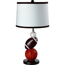 "Sport 25"" H Table Lamp with Empire Shade"
