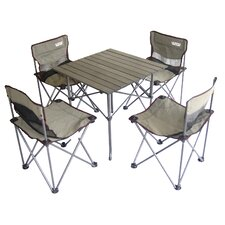 5 Piece Kid's Picnic Table and Chair Set