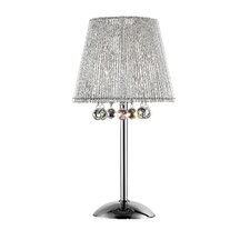 """Crystal Dreamer 27.5"""" H Table Lamp with Empire Shade"""