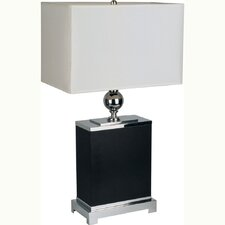 """25"""" H Table Lamp with Rectangular Shade"""