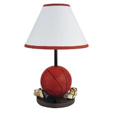 """Basketball 9"""" H Table Lamp with Empire Shade"""