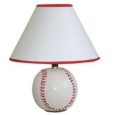 "Ceramic Baseball 5.75"" H Table Lamp with Empire Shade"