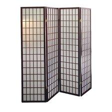 "70"" x 70"" 4 Panel Room Divider"