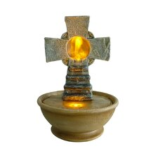 Table Top Cross LED Fountain