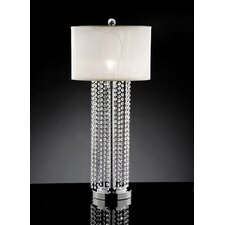 """Simple Elegance 29.75"""" H Table Lamp with Drum Shade"""