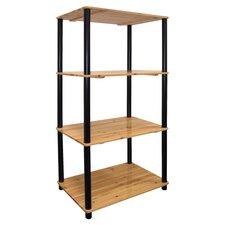 """44"""" Accent Shelves Bookcase"""
