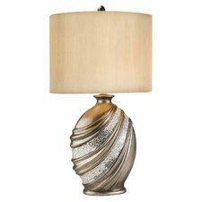 "Decorative 30.5"" H Table Lamp with Drum Shade"