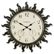 "Sunburst Oversized 22.5"" Wall Clock"