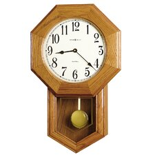 "Chiming Quartz Elliot 13.5"" Wall Clock"