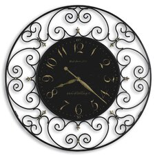 "Oversized 36"" Joline Quartz Wall Clock"