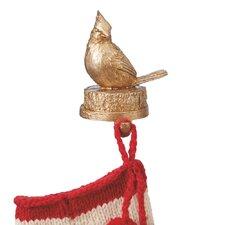 Woodland Cardinal Stocking Holder