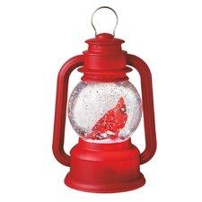 Wonderlights Christmas LED Shimmer Cardinal Lantern