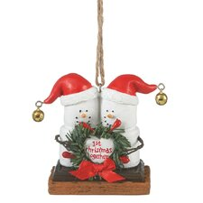 """Specialty S'mores """"1st Christmas Together"""" Ornament"""