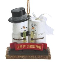 """Specialty S'mores """"Our 1st Christmas"""" Ornament"""