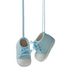 Boy Baby Shoe Ornament (Set of 2)