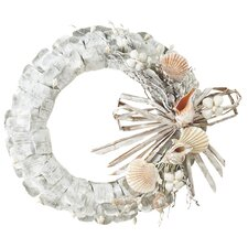 Shell Paper Wreath