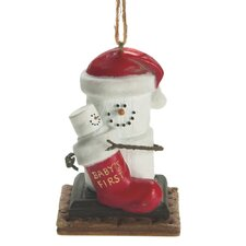 """Specialty S'mores """"Baby's 1st Christmas"""" Ornament"""