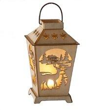 Christmas Craft LED Deer Lantern Ornament