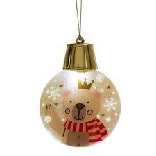 Wonderlights Christmas LED Flashing Bear Ornament