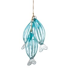 Specialty Stringer of Fish Ornament