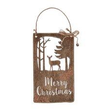 Evergreen Merry Christmas Wall Décor