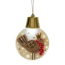 Wonderlights Christmas LED Flashing Bird Ornament