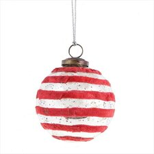 Father Frost Large Velvet Ball Ornament