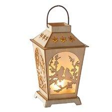 Christmas Craft LED Cardinal Lantern Ornament