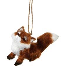 Specialty Sitting Fox Ornament