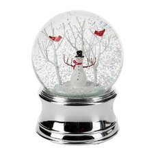 Classic Christmas Snowman Water Globe
