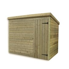 5 x 3 Wooden Lean-To Shed