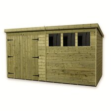 12 x 8 Wooden Lean-To Shed