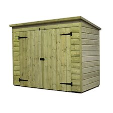 7 x 4 Wooden Lean-To Shed
