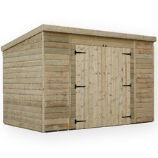 10 x 8 Wooden Lean-To Shed