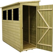 3 x 12 Wooden Lean-To Shed