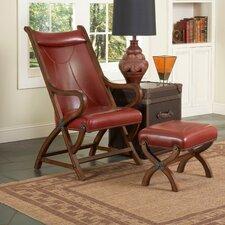 Hunter Chair and Ottoman