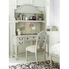 "Inspirations by Wendy Bellissimo 50"" Writing Desk with Hutch"