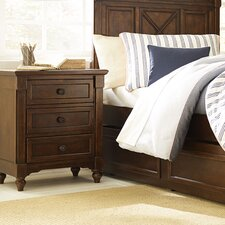 Big Sur By Wendy Bellissimo 3 Drawer Nightstand