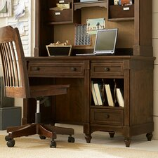 Big Sur By Wendy Bellissimo 3 Drawers, 2 Rem. Dividers Desk