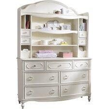 "Harmony 44"" Bookcase Hutch"