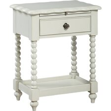 Inspirations by Wendy Bellissimo 1 Drawer Nightstand