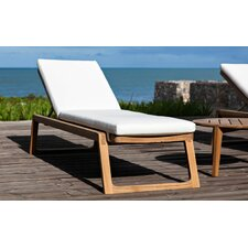 Diuna Chaise Lounger with Cushion