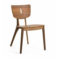 Diuna Stacking Dining Side Chair with Cushion